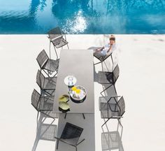 Branch Outdoor Chair Stackable
