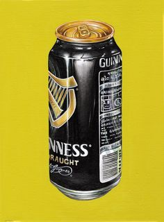 """Guinness Trinitas"" vol1 (2014)  oil on canvas (17,5x23,5cm) by Tiina Lilja"