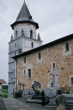 Ainhoa ~ Espelette ~ Bayonne ~ Pyrénées-Atlantiques ~ Aquitaine ~ France ~ Church & Cemetery