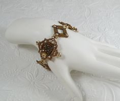 Woven Tila Bracelet in Bronze