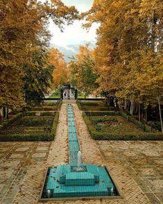 Ferdows Garden, Tehran, Iran