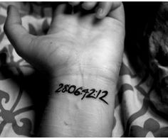 Donnie Darko tattoo... honestly thinking about getting this on my free wrist..