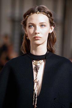 Ala Sekula at Valentino Haute Couture Fall 2015