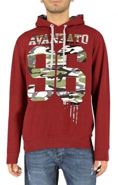 Ανδρικό φούτερ avanzato  FOUT-1195-bu Φούτερ - Sport & Αθλητικά - Άνδρας Hoodies, Sweatshirts, Graphic Sweatshirt, Sweaters, Fashion, Moda, Fashion Styles, Parka, Trainers