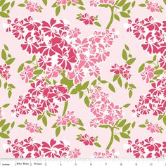 Dainty Blossoms Floral in Pink