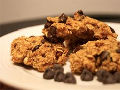 Pumpkin Oatmeal Chocolate Chip Cookies, 2 points plus, #weightwatchers, #recipes