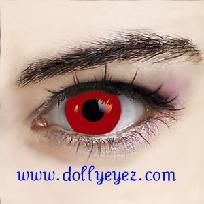 $27.00 a pair Vampire red Halloween Contact lenses