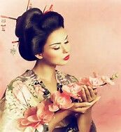 Beautiful kimono girl