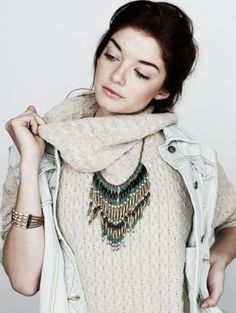 Neutral with a side of bohemian #ReStyleTheRunway @thredUP