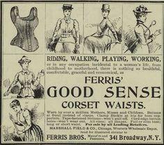 good sense corset waists