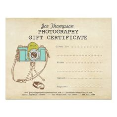 on sale photography gift certificate template by studiobeekay christmas pinterest photography gifts gift certificate template and gift certificates