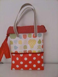 Kindertasche beschichtete Baumwolle wachstuch sew diy