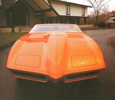 The 1968 Pontiac Banshee II concept was the second in the Banshee series 2. The car had aerodynamic fiberglass skins over stock Firebird inner panels and a near stock black interior. In 1969, the Banshee II was modified with white paint and graphics, including a chicken decal on the nose. It was then re-christened the Firebird Fiero. It had flush wheel covers, a deep louvered hood, cut down glass, brake cooling vents, minimal ground clearance, and separate headrests for passenger and driver.