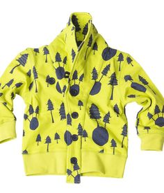 Swedish label Koolabah Kids forest jacket from Arty Baby $49. www.artybaby.com.au #kidsclothes #babyclothes #toddlerclothes