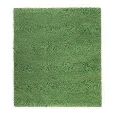 SKÅRUP Vloerkleed, hoogpolig, groen 400    230 200