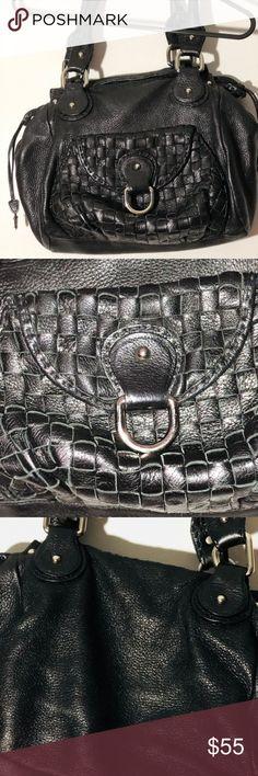 ✨SALE✨Bebe Collection Black Leather Shoulder Bag Used, Great Condition. Bebe Collection Black Leather Shoulder Bag Bebe Collection Bags Shoulder Bags