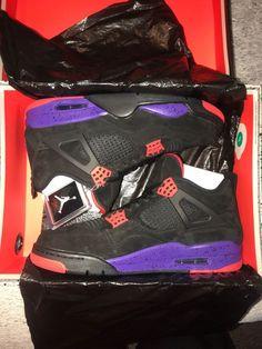 dbb8b05276a6 Air Jordan 4 Retro NRG Raptors Mens New Size 11  fashion  clothing  shoes