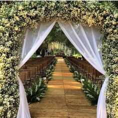 Wedding ceremony backdrop diy simple Ideas for 2019 Vintage Wedding Backdrop, Wedding Reception Backdrop, Wedding Entrance, Outdoor Wedding Decorations, Wedding Venues, Wedding Vintage, Rustic Wedding, Wedding Walkway, Hall Decorations