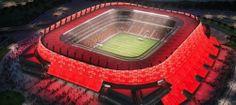 E' l'arena di Recife, lo stadio dove il 20 giugno giocano gli Azzurri. http://ow.ly/xhVS1 #Mondiali2014 #Brasile2014