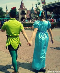 peter pan and wendy darling - face characters