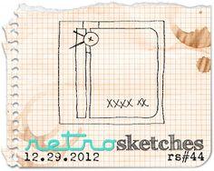 retro sketches : a challenge: retrosketches #44...