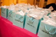 Tiffany Themed Sweet 16 Party supplies online   ... mother Rena ...