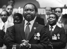 Samora Machel (Sept 1933 – Oct 1986) was a Mozambican military commander, revolutionary socialist leader who fought for Mozambique's independence which was declared in 1975. Machel became the first President of Mozambique in 1975 until his death in 1986, in a an aircraft crash.   To get more information about Samora Machel : 1) Video : https://www.youtube.com/watch?v=44Q_6VmN0uU&index=1&list=PL1FKi79YyZ8dISmxXNpW0qXpqdoddTYEa 2) Wikipedia…
