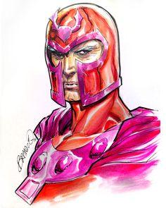 Magneto by Brandon Peterson *