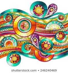 Find Original Drawing Tribal Doddle Ethnic Pattern stock images in HD and millions of other royalty-free stock photos, illustrations and vectors in the Shutterstock collection. Thousands of new, high-quality pictures added every day. Mandala Art, Design Mandala, Doodles Zentangles, Zentangle Patterns, Tangle Art, Ethnic Patterns, Zen Art, Naive Art, Art Graphique