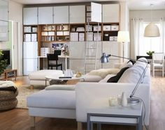 Leselampe wohnzimmer ~ Feng shui wohnzimmer einrichten wandregal sofa weiss leselampe