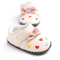 Soft Leather Baby Shoes , Meckior Infant Baby Girls Boys Handmade Princess Flats Toddler First Walkers Soft PU Leather Non-Slip Crib Wedding Dress Shoes Best Baby Shoes, Cute Baby Shoes, Baby Girl Shoes, Baby Girls, Infant Girl Shoes, Princess Shoes, Baby Princess, Leather Baby Shoes, Pu Leather