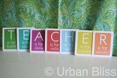 {printables} Teacher Appreciation Week Flash Cards