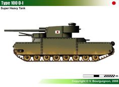 Type 100 O-I Type 100, World Of Tanks, Ww2 Tanks, Military Weapons, Military Equipment, Modern Warfare, Armored Vehicles, War Machine