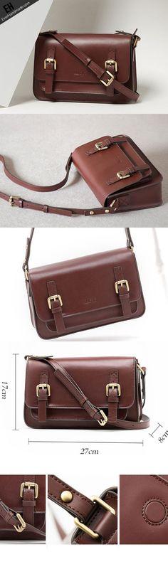 Genuine Leather Satchel bag shoulder bag for women leather crossbody bag