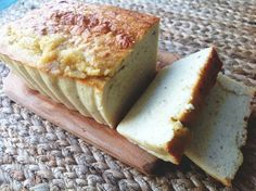Vanilla Protein Pound Cake! Only 2 carbs and full of protein! This is amazing!