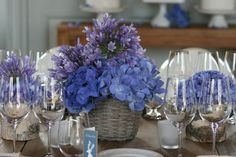 Centre de table d'inspiration nordique par #FranceFleurs #fleurs #mariage #Bordeaux