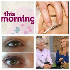 Lash lift as recommended by ITV's this morning programme and available at cherish