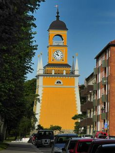Karlskona Clock Tower, Sweden