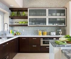 Modern And Sleek Kitchen Interior Idea 97