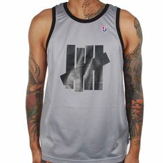 937c2192e0bff Undefeated 5 Strike Tank Top (Grey)  39.75