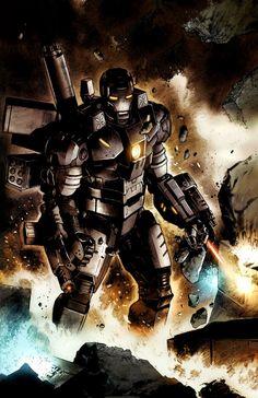Iron Man: Rapture War Machine Standing Marvel Comics Poster - 30 x 46 cm Disney Marvel, Marvel Dc Comics, Marvel Heroes, Marvel Avengers, Marvel Comic Books, Comic Book Characters, Comic Books Art, Book Art, Iron Man Suit