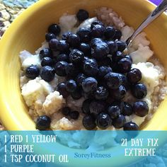What do you eat on the 21 Day Fix Extreme? Find out how week 1 went and get meal ideas here http://soreyfitness.com/fitness/21-day-fix-extreme-review-week-1/