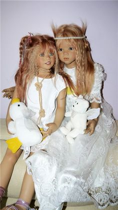 Солнечный лучик Nuala by Annette Himstedt / Коллекционные куклы Annette Himstedt / Бэйбики. Куклы фото. Одежда для кукол