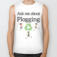 Ask me about #Plogging Biker Tank unisex Move over, muscle tees and muscle tanks. Our Biker Tanks provide edgier style with deep arm openings and fringy, raw-cut edges. You'll love the super-soft feel and the loose, slouchy fit.      - Unisex sizing (women should choose one size smaller for a more fitted look)   - Low-cut armholes with raw-cut edges   - Constructed with 100% fine jersey cotton   - Combed for softness and comfort