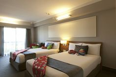 Family Suite - Superb family option. 2-room & 2 bathrooms, interconnected suite. Sleeps up to 6.