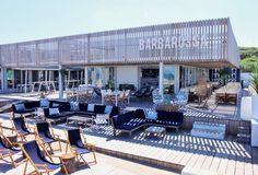 strandtent beachclub restaurant Scheveningen Holland
