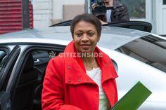 Paris : Premier déplacement de la nouvelle secrétaire d'état chargée de la Ville - A la une - via Citizenside France. Copyright : Christophe BONNET - Agence73Bis