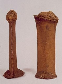 Chopine - Worn by upper-class Venetian women in the 15th century.... can you imagine trying to walk in those...