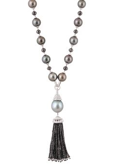 Nigaam Tassel collection pearl necklace | JCK On Your Market