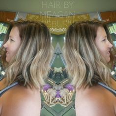Brown and blonde balayage Follow me on  Instagram @hairstylist_meagan.osburn
